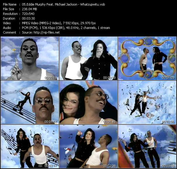 Eddie Murphy Feat. Michael Jackson video screenshot