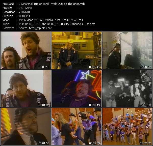 Marshall Tucker Band video screenshot