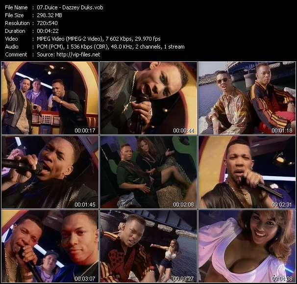 Duice video screenshot