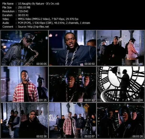 Naughty By Nature video screenshot