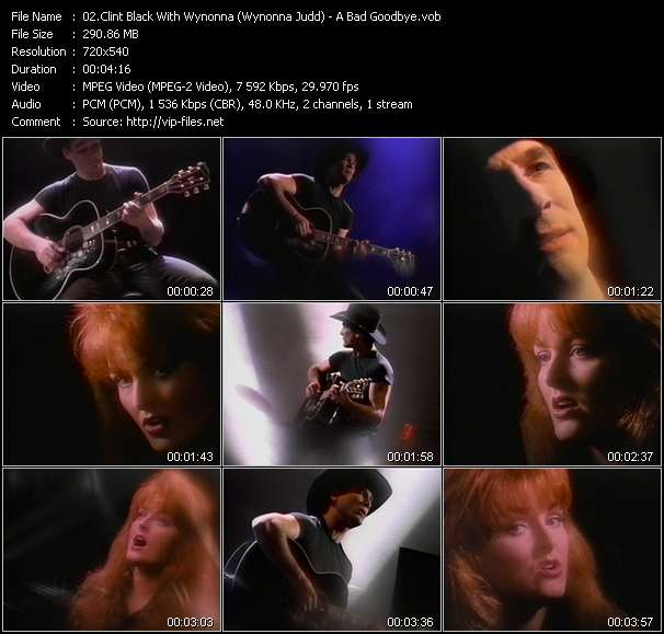 Clint Black With Wynonna (Wynonna Judd) video screenshot