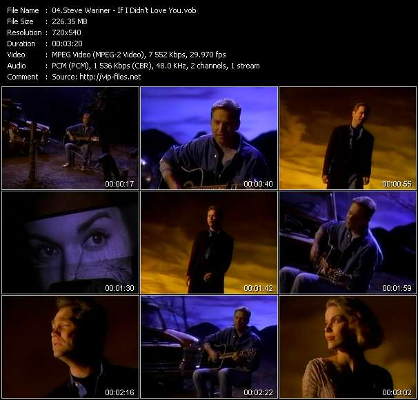 Steve Wariner video screenshot