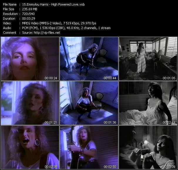 Emmylou Harris video screenshot