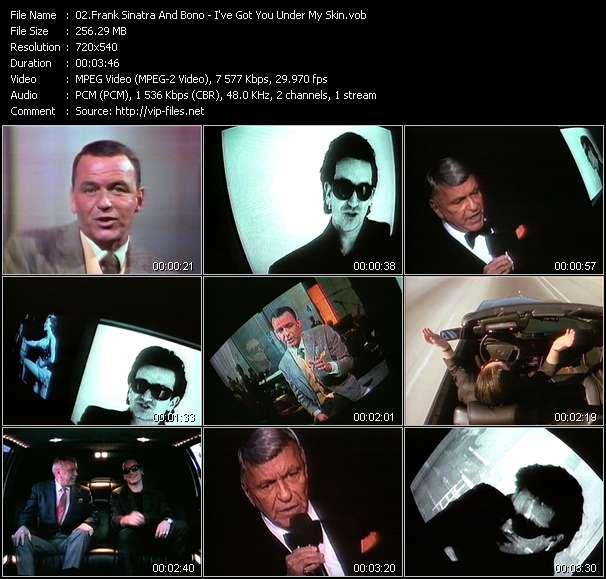 Frank Sinatra And Bono video screenshot