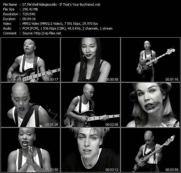 Me'shell Ndegeocello video screenshot