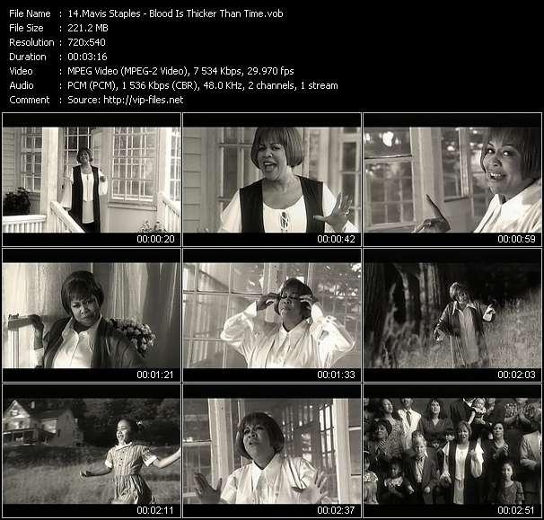 Mavis Staples video screenshot