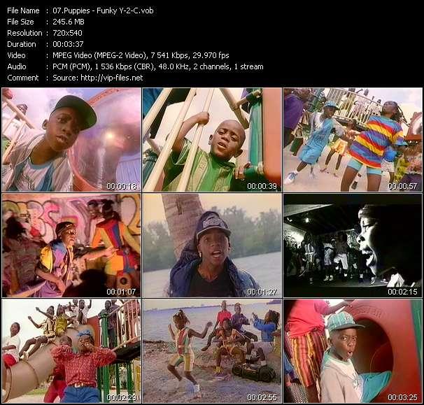 video Funky Y-2-C screen