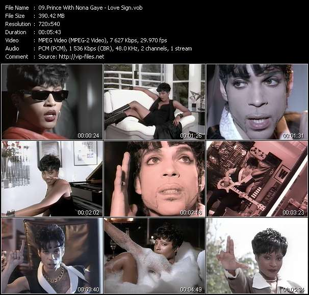 Prince With Nona Gaye video screenshot