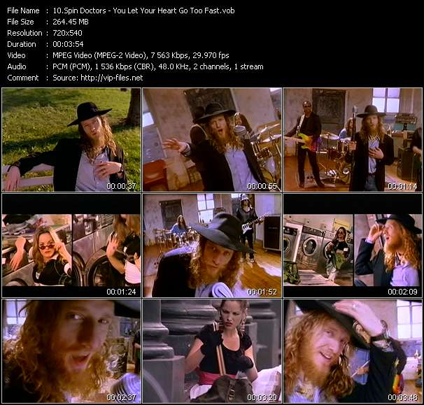 Spin Doctors video screenshot