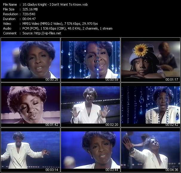 Gladys Knight video screenshot