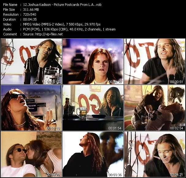 Joshua Kadison video screenshot