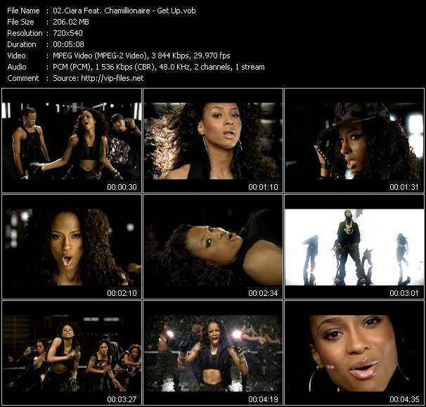 Ciara Feat. Chamillionaire video screenshot