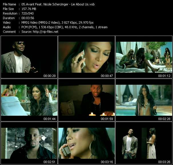 Avant Feat. Nicole Scherzinger video screenshot