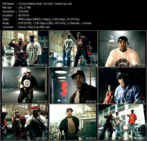 Lloyd Banks Feat. 50 Cent video screenshot
