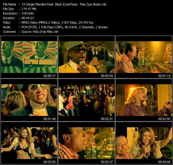 Sergio Mendes Feat. Black Eyed Peas video screenshot