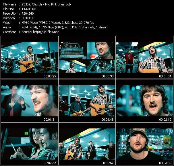 Eric Church video screenshot