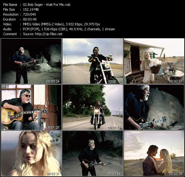 Bob Seger video screenshot