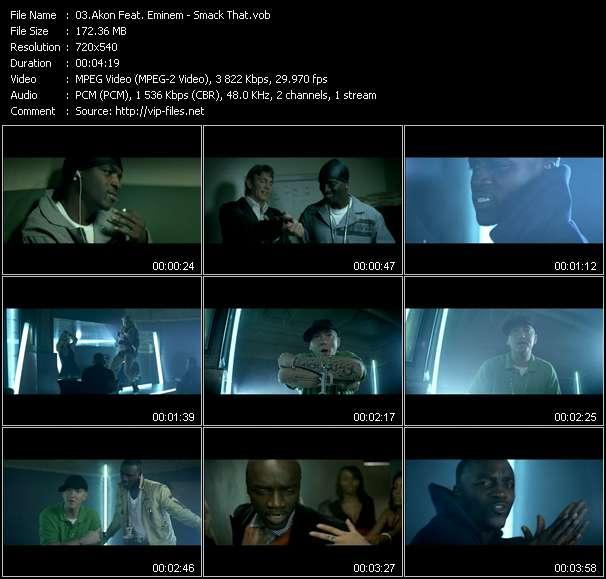 Akon Feat. Eminem video screenshot