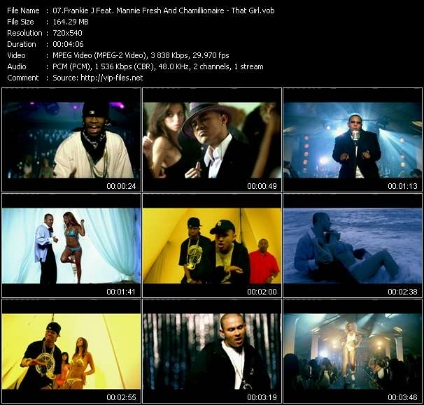 Frankie J Feat. Mannie Fresh And Chamillionaire video screenshot