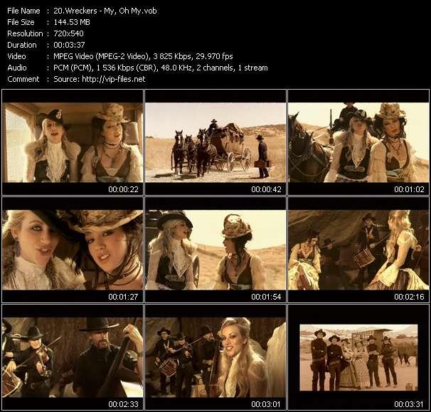 Wreckers video screenshot