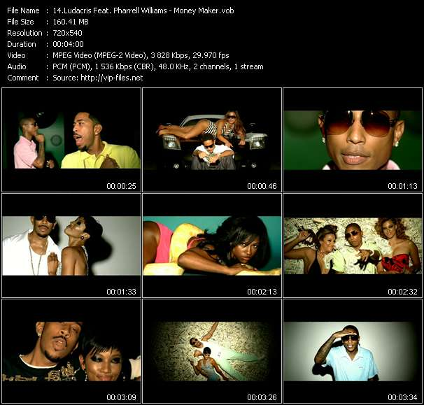 Ludacris Feat. Pharrell Williams video screenshot
