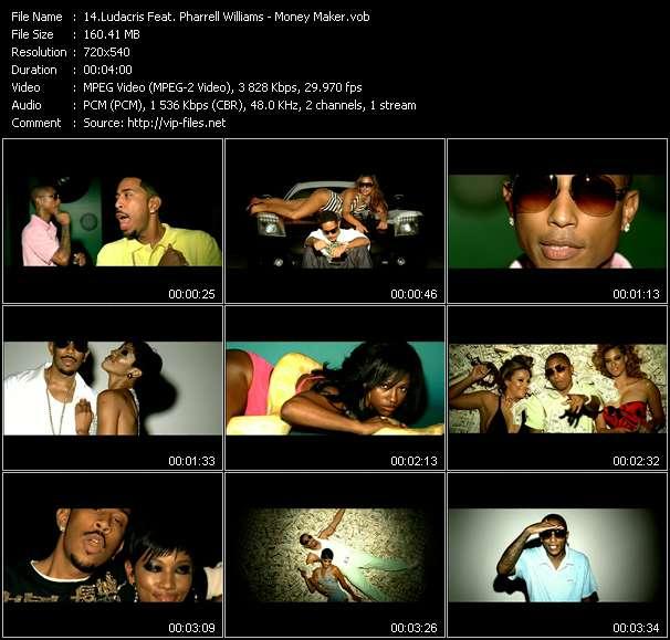 Ludacris Feat. Pharrell Williams video screenshot