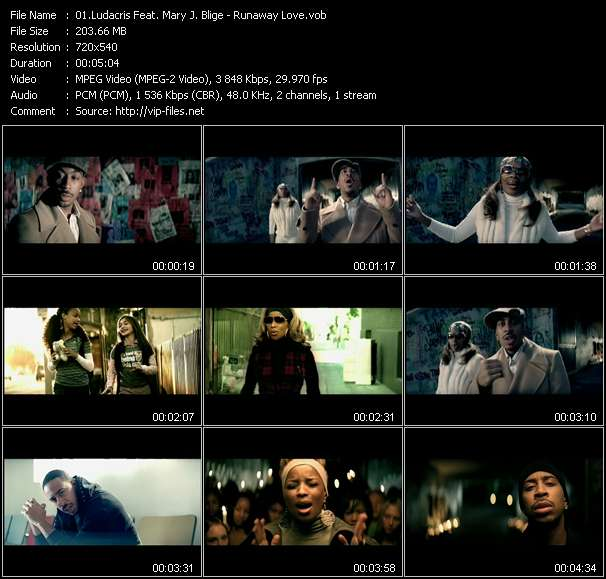 Ludacris Feat. Mary J. Blige video screenshot