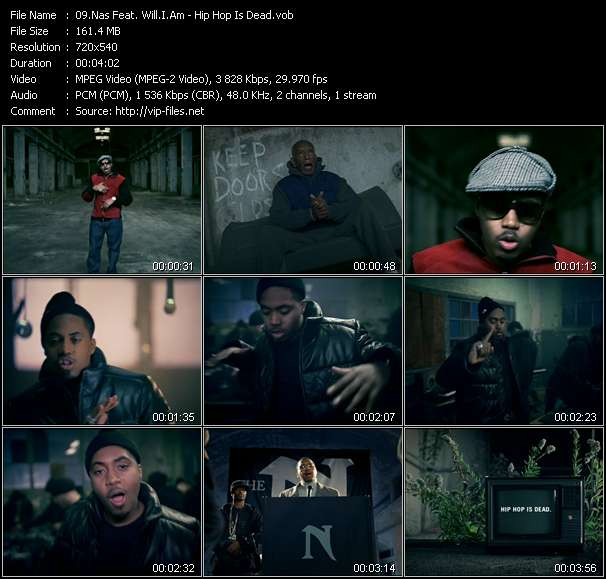 Nas Feat. Will.I.Am video screenshot