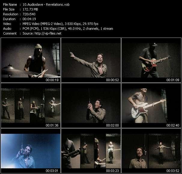 Audioslave video screenshot