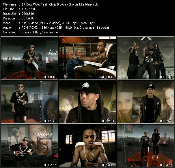 Bow Wow Feat. Chris Brown video screenshot