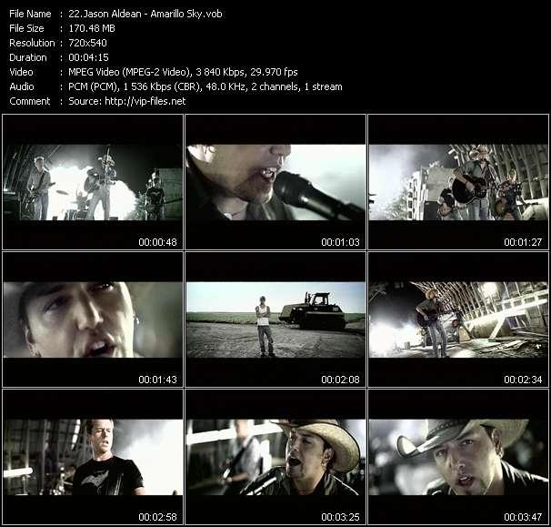 Jason Aldean video screenshot