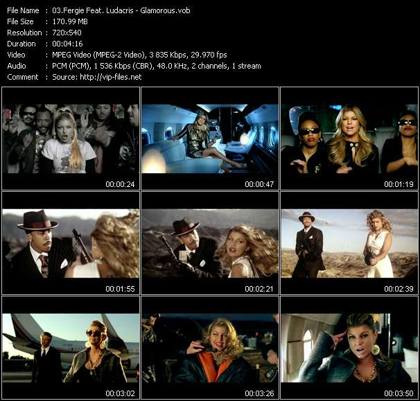 Fergie Feat. Ludacris video screenshot