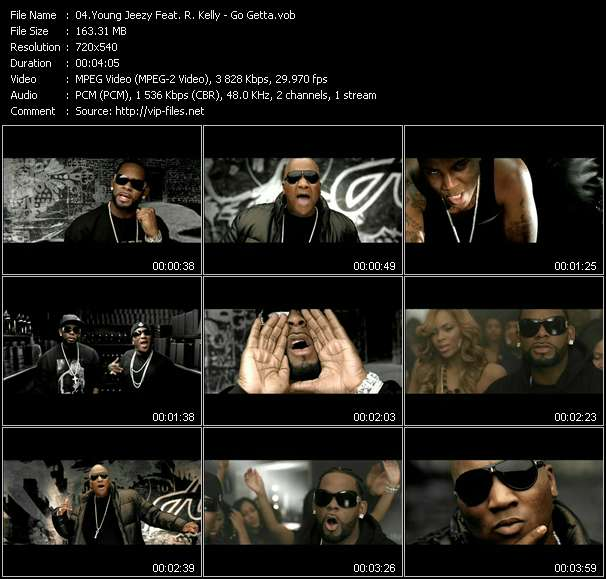 Young Jeezy Feat. R. Kelly video screenshot