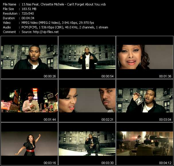 Nas Feat. Chrisette Michele video screenshot