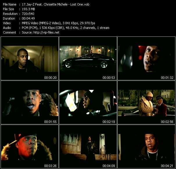 Jay-Z Feat. Chrisette Michele video screenshot
