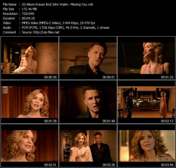 Alison Krauss And John Waite video screenshot