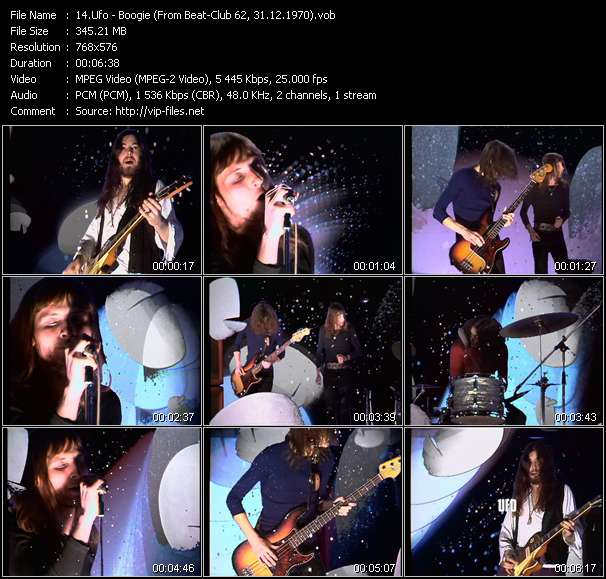 Ufo video screenshot