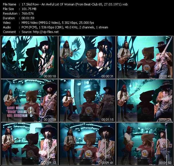 Skid Row video screenshot