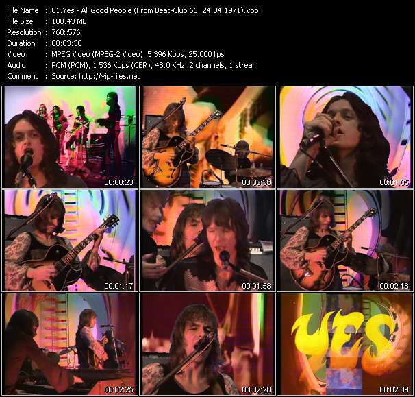 Yes video screenshot