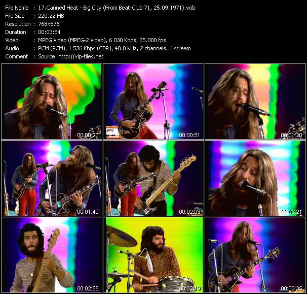 Canned Heat video screenshot