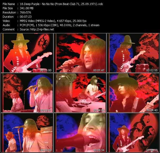 Deep Purple video screenshot