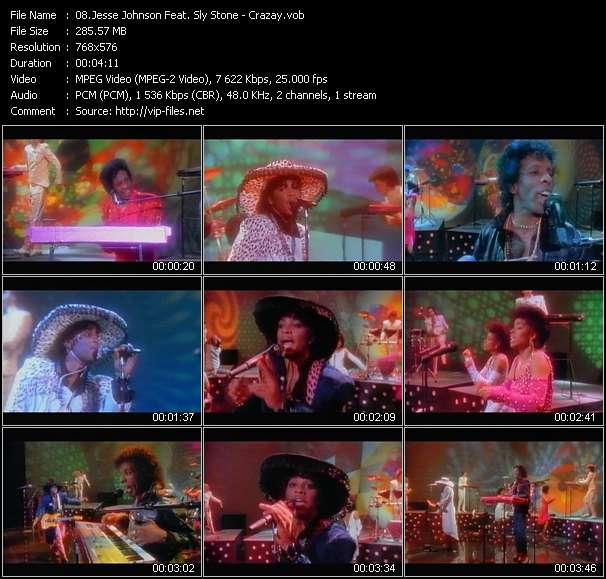 Jesse Johnson Feat. Sly Stone video screenshot