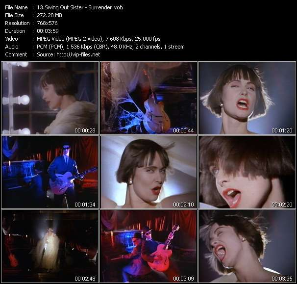 Swing Out Sister video screenshot
