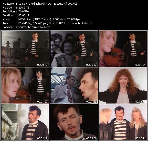 Dexy's Midnight Runners video screenshot