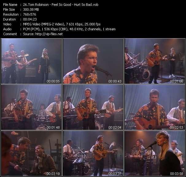 Tom Robinson video screenshot