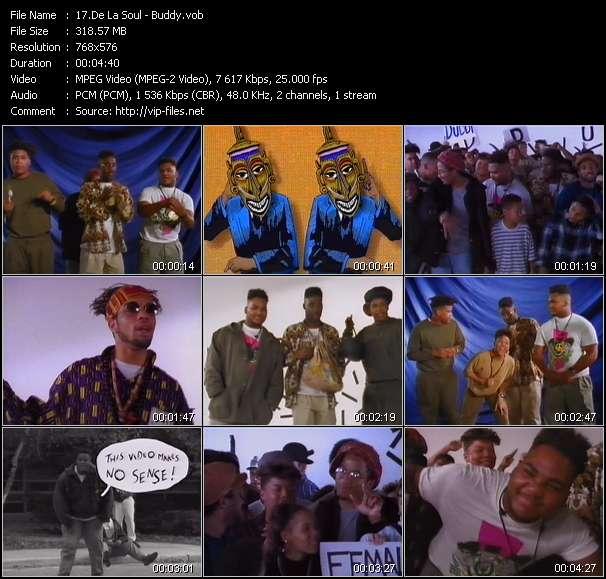 De La Soul video screenshot