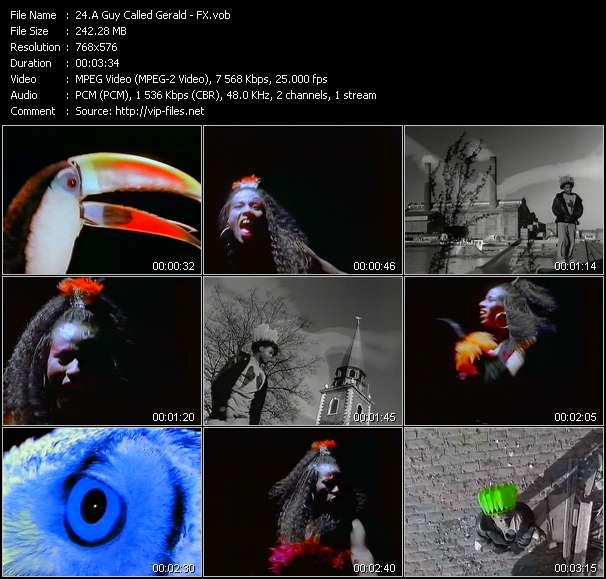 A Guy Called Gerald video screenshot