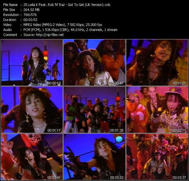 Leila K Feat. Rob 'N' Raz video screenshot
