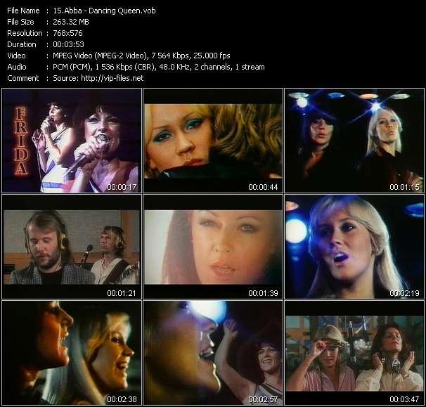 Abba video screenshot