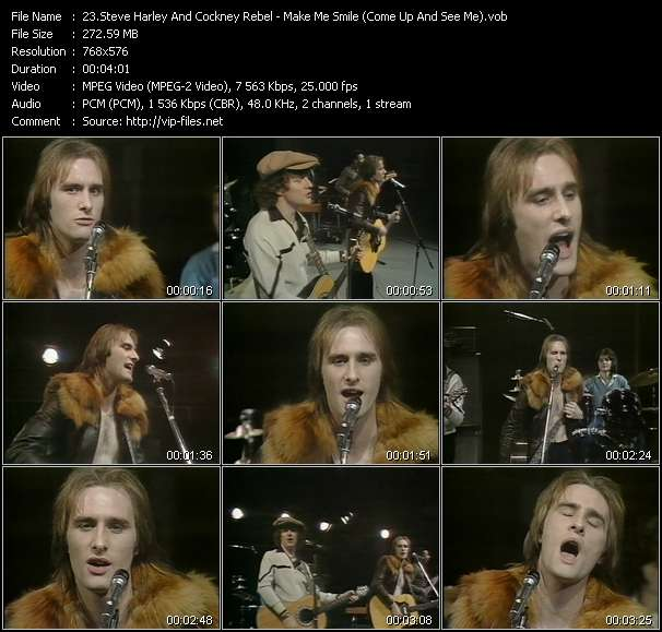 Steve Harley And Cockney Rebel video screenshot
